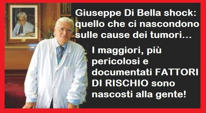 Giuseppe Di Bella shock: quello che ci nascondono sulle cause dei tumori – I maggiori, più pericolosi e documentati FATTORI DI RISCHIO sono nascosti alla gente…!