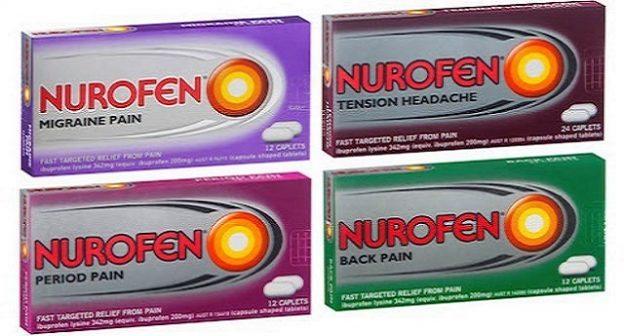 Come le case farmaceutiche ci ingannano: c'è il Nurofen per il mal di schiena, il Nurofen per i dolori mestruali, il Nurofen per l'emicrania, il Nurofen per il mal di testa, e per questo costa di più. Ma dentro le confezioni c'è lo stesso prodotto!