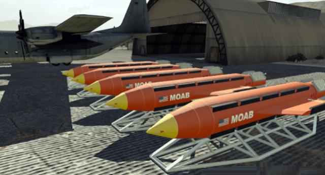 Avrete già letto dell'eccezionale successo della Moab (la madre di tutte le bombe) lanciata da Trump. Distrutto il tunnel dell'Isis. Ma nessuno vi ha detto che quel tunnel fu voluto e progettato proprio dagli Americani!