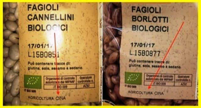 """ATTENZIONE – Il """"Biologico"""" Cinese invade i supermercati! Leggete le etichette!"""