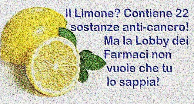 Il Limone? Contiene 22 sostanze anti-cancro ! Ma alle Lobby dei Farmaci proprio non fa piacere che tu lo sappia!