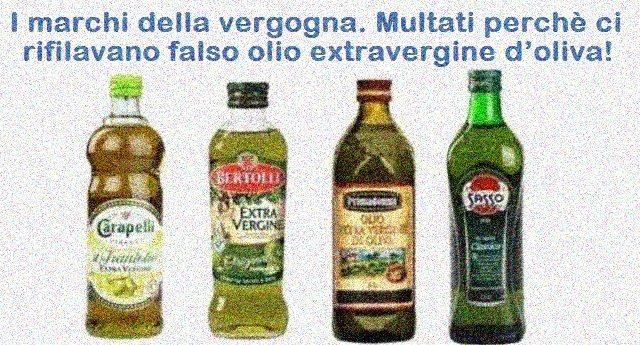 Giusto per non farvelo dimenticare quando andate a fare la spesa: Ecco i 4 importanti marchi multati perchè ci rifilavano falso olio extravergine d'oliva!