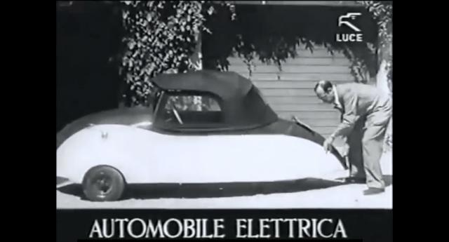 Correva l'anno 1941 e in Italia già esisteva l'auto elettrica. E poi? E poi, evidentemente, le lobby non erano d'accordo!