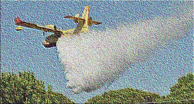 …E poi scopri che i Canadair e gli elicotteri antincendio sono gestiti da privati! …E Ti rendi conto che gli incendi fanno girare tanti, ma proprio tanti soldi…!
