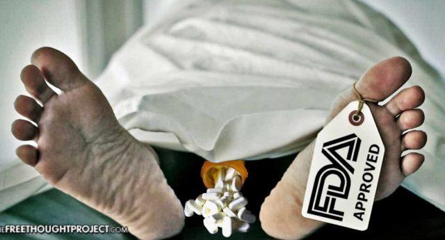 Usa – Big Pharma ha corrotto 68.000 medici pur di rifilare alla gente oppioidi antidolorifici. Risultato? Oltre 1.000 casi a settimana di overdose da droga, anche fatali! …E parliamo della stessa Big Pharma che ora si frega le mani per i 10 vaccini obbligatori…