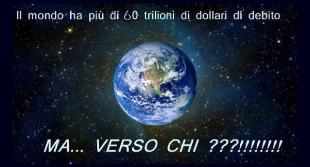 Tutti i Paesi del mondo hanno un debito pubblico. Ma verso chi? Se tutti sono debitori, chi è il creditore?