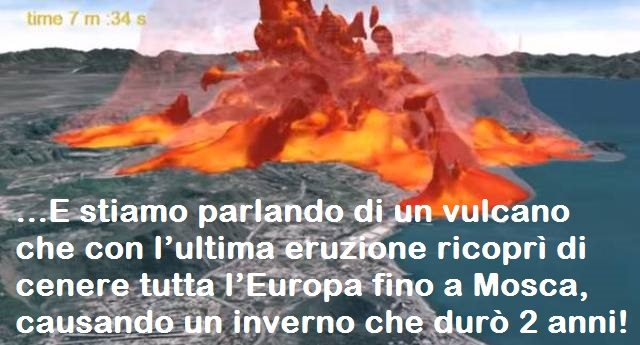 """Supervulcano Campi Flegrei, parlano gli scienziati: """"il vulcano sta diventando sempre più pericoloso"""""""