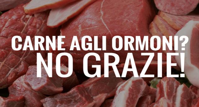 Io non mangio carne agli ormoni