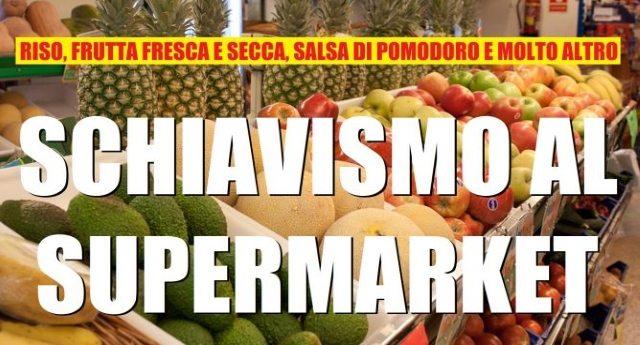 Riso asiatico, conserve di pomodoro cinesi, nocciole turche: ecco nei supermarket i prodotti dello schiavismo. Il tutto con l'OK della UE…!