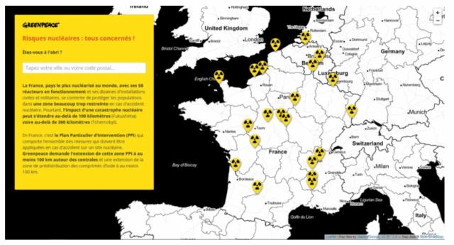 Greenpeace France denuncia l'incubo nucleare: reattori vecchi, logori e protetti in modo insufficiente – Tutti i Francesi interessati – Ma non è solo un problema loro, Chernobyl era ben più lontana, eppure…