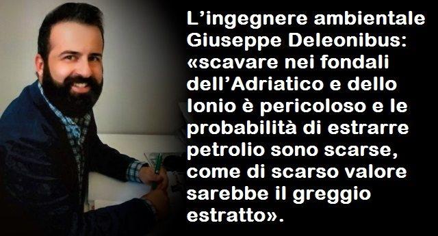 Il petrolio nell'Adriatico è una bufala propagandistica!