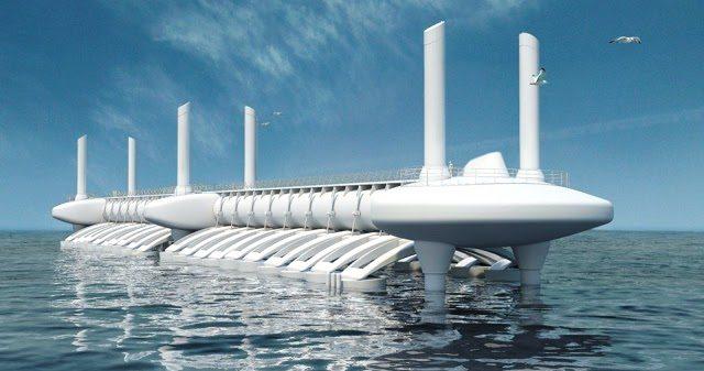 Wave Star, la centrale che produce elettricità pulita ed a basso costo delle onde. Così in Danimarca hanno risolto il problema energetico. Da noi invece NO. Alla faccia dei nostri 8000 km di costa. I nostri politici proprio non se la sentono di dare questo dispiacere alle lobby del Petrolio!