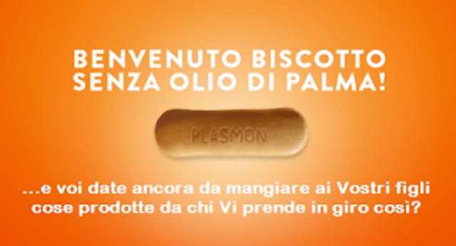 """I biscotti Plasmon ora senza olio di Palma. L'azienda: """"Vi abbiamo ascoltato"""" …Ma brutte carogne, SIAMO NOI CHE VI ABBIAMO SCOPERTO. Altrimenti avreste continuato ad avvelenare i nostri figli!"""