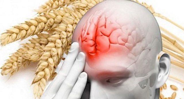 Gli effetti del glutine sul cervello