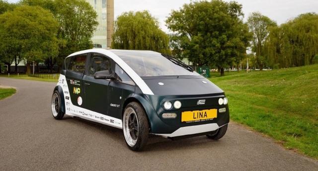 Dall'Olanda ecco Lina, l'automobile biodegradabile fatta di lino e zucchero