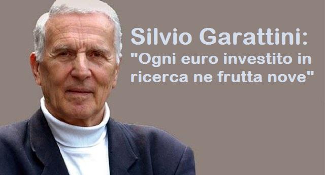 """La lezione che i nostri politici non vogliono capire – Silvio Garattini: """"Ogni euro investito in ricerca ne frutta nove""""…!"""