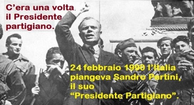 C'era una volta il Presidente partigiano – ricordiamo Sandro Pertini a 28 anni dalla scomparsa.