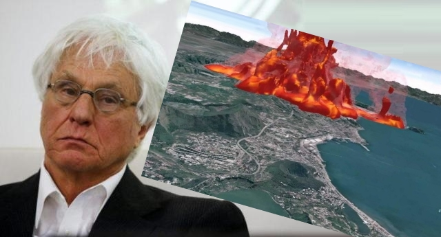 """Campi Flegrei – L'allarme del sismologo Boschi: """"un super vulcano incontrollabile e sottovalutato. Spero di sbagliarmi, ma…"""" …e parliamo di un vulcano che con l'ultima eruzione ricoprì di cenere tutta l'Europa fino a Mosca, causando un inverno che durò 2 anni!"""