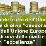 Olio extra vergine di oliva deodorato